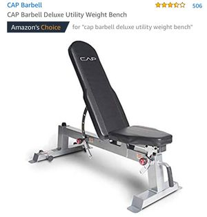 CAP BARBELL weight bench for Sale in South San Francisco, CA