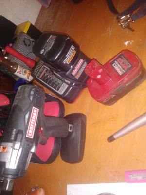 Craftman two batteries charger. And drill for Sale in San Bernardino, CA