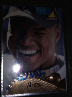 Pittsburgh pirates Al Martin autographed baseball card for Sale in Penn, PA