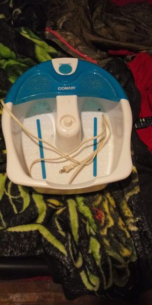 Conair foot massager(no delivery fee) Will deliver in booneville area for Sale in Booneville, AR