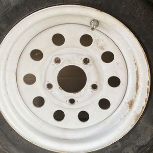 Trailer Tire On Rim for Sale in Phoenix, AZ