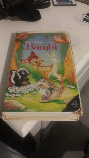 Bambi VHS for Sale in Hampton, VA