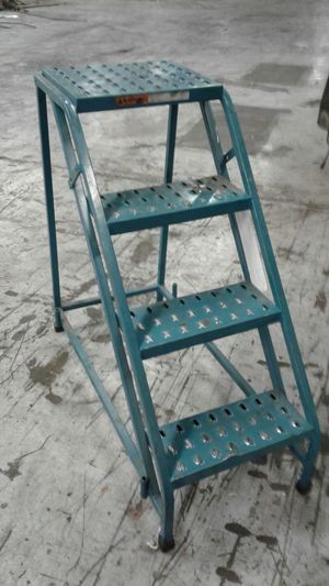 Steel ladder. for Sale in Springfield, VA