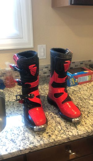 Dirt bike Motorcycle boots for Sale in Centennial, CO