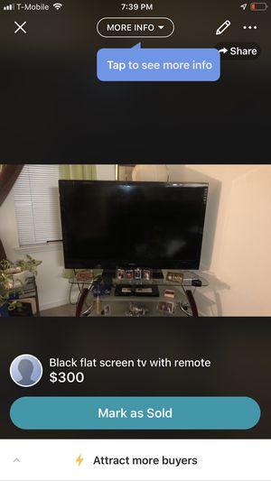 "55"" flat screen for Sale in Rockville, MD"