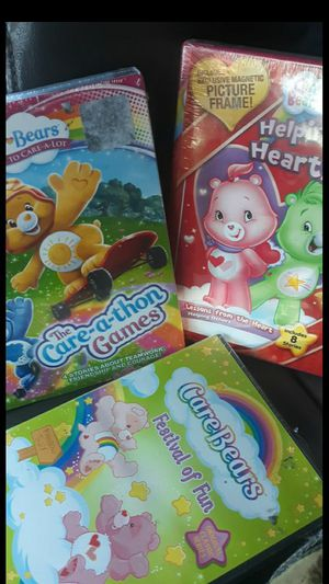 *NEW** care bears DVDs all 3 for 3.00 for Sale in Dublin, CA