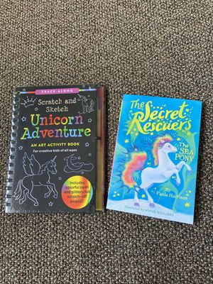 Unicorn collection activity books for Sale in Vancouver, WA