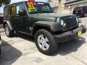 2007 Jeep Wrangler Sahara unlimited for Sale in Ceres, CA