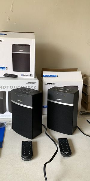 Bose SoundTouch 10 - Bluetooth/Wi-Fi Speakers 2-Pack for Sale in Flower Mound, TX