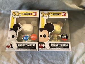 MICKEY MOUSE Peaches + Cream / D.I.Y Funko Pop! Vinyl Disney #01 Shop / Michaels DIY Exclusive for Sale in Oregon City, OR