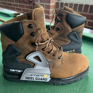 "Carhartt Mens 6""work boot Closed Toe Ankle Safety Boots, Bison Brown, Size 10.5 Authentic for Sale in Beltsville, MD"