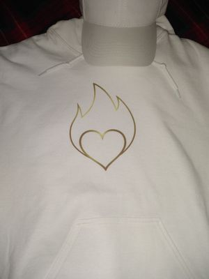 """New Pullover Hoodie! """"The fire is in love"""" Spanish language hoodie for Sale in Freeland, MI"""