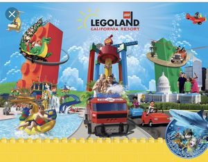 Legoland sealife 2 days entry ticket for Sale in Poway, CA