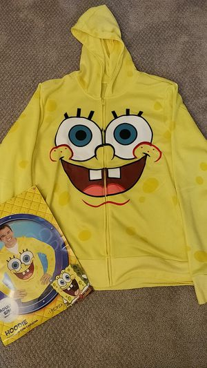 Sponge Bob Hoodie - Halloween Costume for Sale in Falls Church, VA