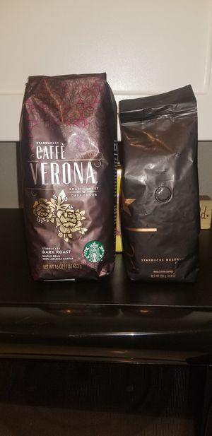 Star bucks whole bean coffee for Sale in Kent, WA