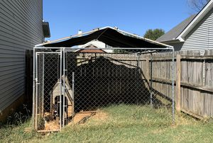 Dog Kennel with roof for Sale in Murfreesboro, TN