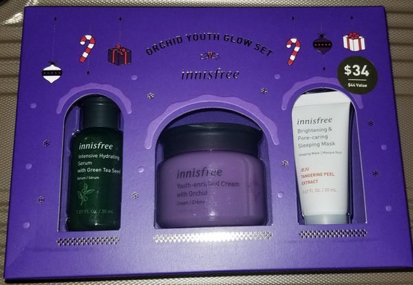 Innisfree Limited Edition Orchid Youth Glow Set