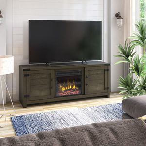"65"" fireplace TV stand for Sale in Los Angeles, CA"