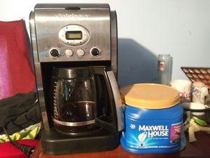 Cuisinart Digital Coffee Maker & 25.6oz Maxwell House Coffee for Sale in San Bernardino, CA