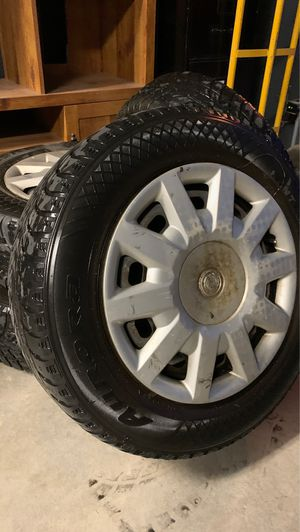 4 Mounted W403 Studded Winter Radials tires and wheels for Sale in Bend, OR