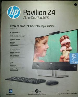 hp Pavilion 24 All-in-one Touch PC for Sale in Sarasota, FL