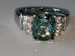 Caribbean Blue ring for Sale in Mifflinburg, PA