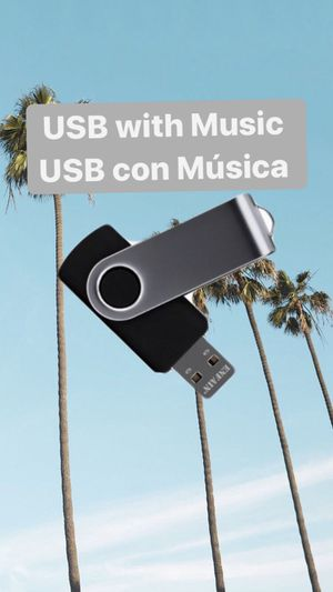 USB con música| USB with music for Sale in Vernon, CA