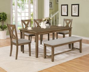Nice dining table set on sale $589🔥🔥4672 n blackstone ave Fresno ca 93726 for Sale in Fresno, CA