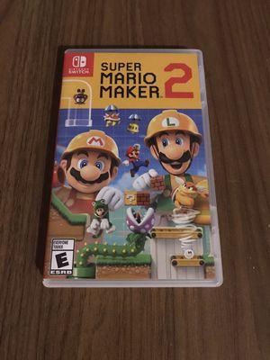 Super Mario Maker 2 Nintendo Switch for Sale in Bloomington, CA