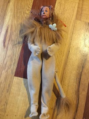 Lion from wizard of oz barbie doll for Sale in Arvada, CO