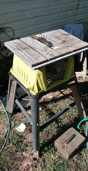 Ryobi 10inch table saw for Sale in Easley, SC