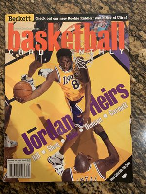 April 99 Kobe Bryant Beckett Basketball Magazine RARE for Sale in Tustin, CA