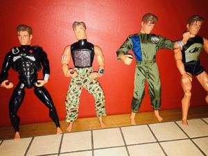 1998 Mattel Max Steel Lot Of 4 Action Figures for Sale in Massapequa, NY
