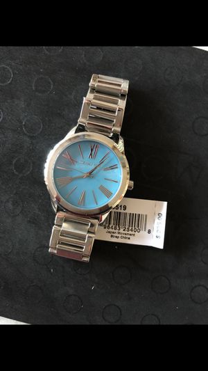 Michael Kors Women's Watch Silver/Blue Retail $225 (NO BOX)(BRAND NEW)(PICK UP ONLY) for Sale in Gardena, CA