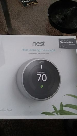 Nest learning Thermostat programs itself. Then pays for it self for Sale in Jonesboro, GA