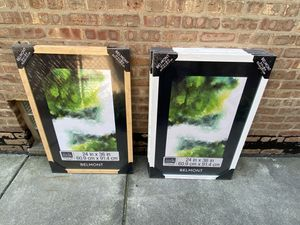 Brand New Poster Frames 24x36 White and Sand color for Sale in Chicago, IL