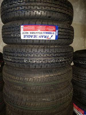 st205 75 14 trailer Tire 45 each for Sale in Phoenix, AZ