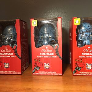 Old Spice Krakengard Figurine deodorant holder for Sale in Downey, CA