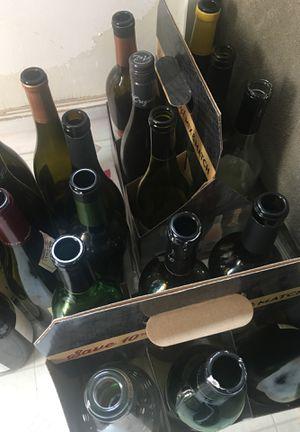 FREE empty wine bottles for Sale in San Francisco, CA