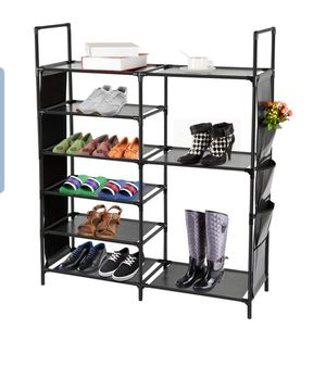 Shoes rack closet organizer shelves for Sale in Aliso Viejo, CA