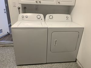 Amana washer and dryer(electronic) for Sale in Dublin, CA