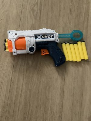 Nerf X-Shot Dart Gun with Ammo for Sale in Huntington Beach, CA