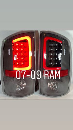 07-09 Dodge Ram 1500 2500 3500 3D red led tail lights for Sale in Los Angeles, CA