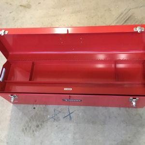 New Husky Metal Tool Box 32 x 8.5 x 9.5 with metal Tray for Sale in Rancho Cucamonga, CA
