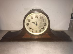 Antique Ingraham Hermes Duplex 8-Day Mantle Clock for Sale in Knoxville, TN