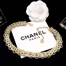 Gold CC Heavy Chain Necklace for Sale in Newark,  CA