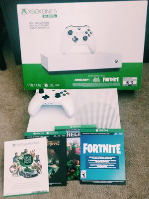 Xbox One S All digital Edition for Sale in Manchester, CT