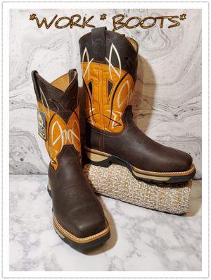 🪓🔗BOTAS DE TRABAJO 🔗🪓 for Sale in Dallas, TX