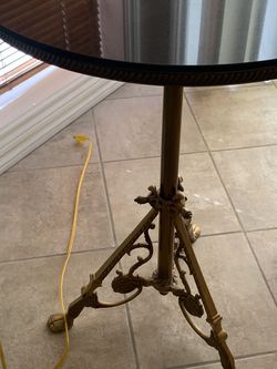 Real brass and marble Table From Z Gallery for Sale in Beaverton,  OR