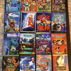 Disney/Pixar And DreamWorks Animated DVDs for Sale in Merrick, NY